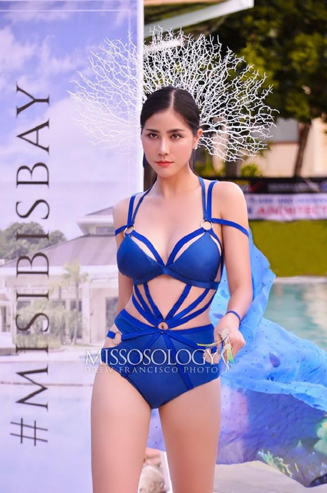 Đại diện Việt Nam giành huy chương vàng đầu tiên tại Hoa hậu Trái đất 2019 - Ảnh 2.