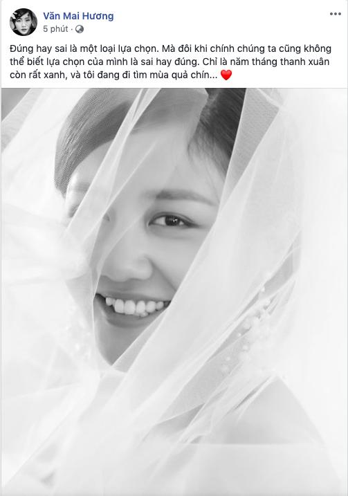 Bị nghi đăng ký kết hôn giả, Văn Mai Hương tung ảnh cô dâu, Mai Phương Thúy cùng loạt sao Việt nhiệt liệt chúc mừng - Ảnh 1.