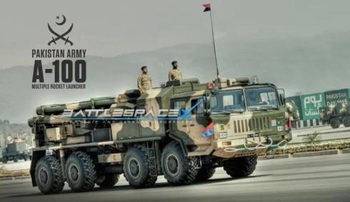 Vì sao pháo phản lực A100 trở thành vương bài giúp Pakistan đáp trả Ấn Độ? - ảnh 1