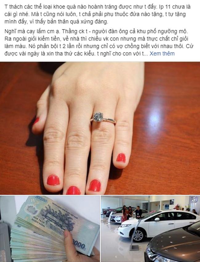 Món quà đắt nhất 20/10: Vợ gặp chồng đưa nhân tình đi chơi nhưng không thèm đánh ghen, về vác ngay 150 triệu đi chơi lớn - ảnh 1