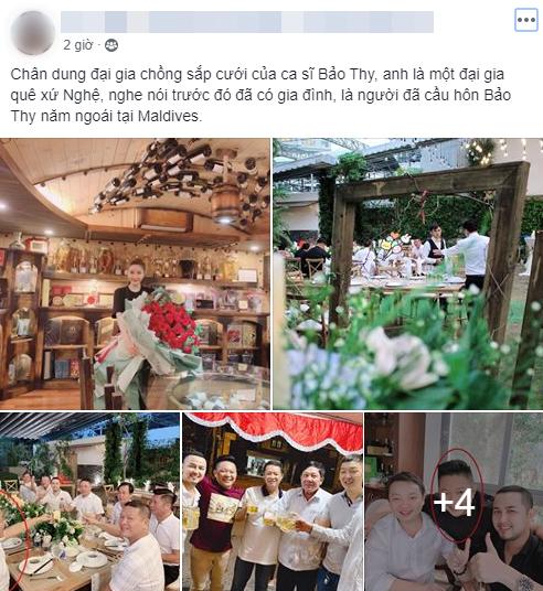 Rộ tin đồn chồng sắp cưới của Bảo Thy là đại gia, đã từng một lần kết hôn? - ảnh 1