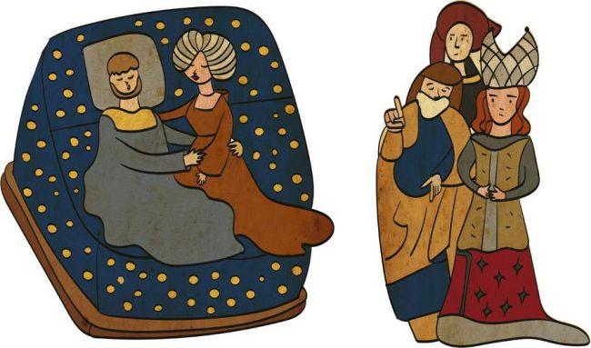 Những điều kỳ quặc nhất thời Trung Cổ: Nhổ sạch lông mày, lông mi cũng thành trào lưu - Ảnh 3.