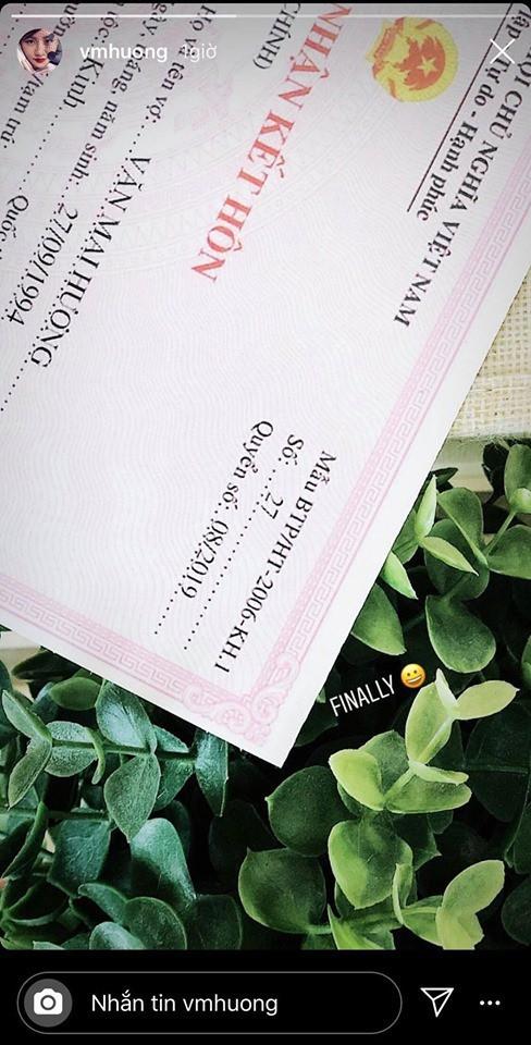 Bị nghi đăng ký kết hôn giả, Văn Mai Hương tung ảnh cô dâu, Mai Phương Thúy cùng loạt sao Việt nhiệt liệt chúc mừng - Ảnh 3.