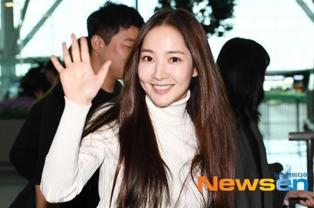 Tình cũ Lee Min Ho Park Min Young gây náo loạn ở sân bay vì nhan sắc không giống như lời đồn - ảnh 3