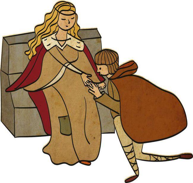 Những điều kỳ quặc nhất thời Trung Cổ: Nhổ sạch lông mày, lông mi cũng thành trào lưu - Ảnh 4.