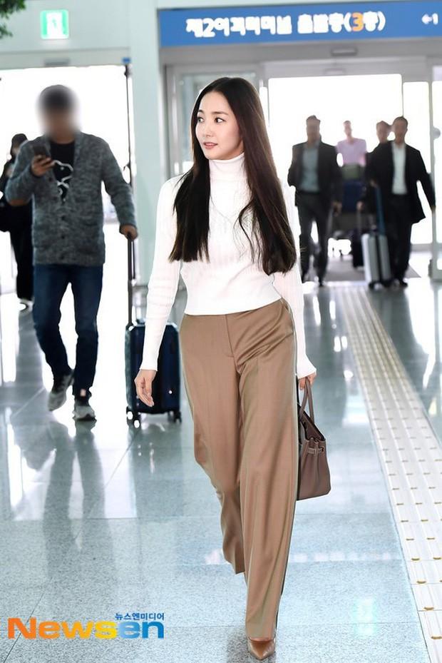 Tình cũ Lee Min Ho Park Min Young gây náo loạn ở sân bay vì nhan sắc không giống như lời đồn - ảnh 4