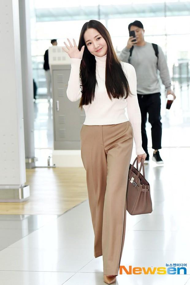 Tình cũ Lee Min Ho Park Min Young gây náo loạn ở sân bay vì nhan sắc không giống như lời đồn - ảnh 5