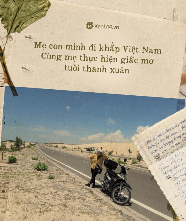 Những lá thư tay gửi con gái và chuyến đi thanh xuân của 2 mẹ con trên chiếc xe máy dọc đường đất Việt: Vi à! Làm bạn với mẹ nhé - Ảnh 7.