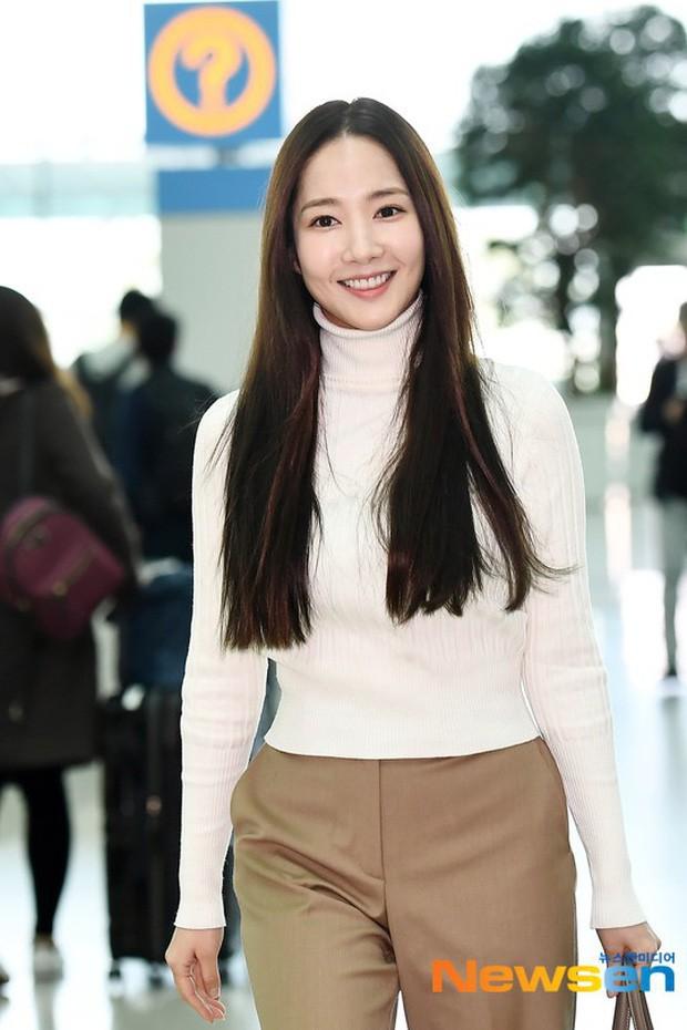 Tình cũ Lee Min Ho Park Min Young gây náo loạn ở sân bay vì nhan sắc không giống như lời đồn - ảnh 7