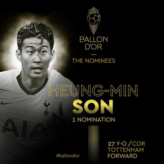 Lần đầu tiên trong sự nghiệp, Son Heung-min nhận vinh dự vô cùng lớn lao này - Ảnh 1.