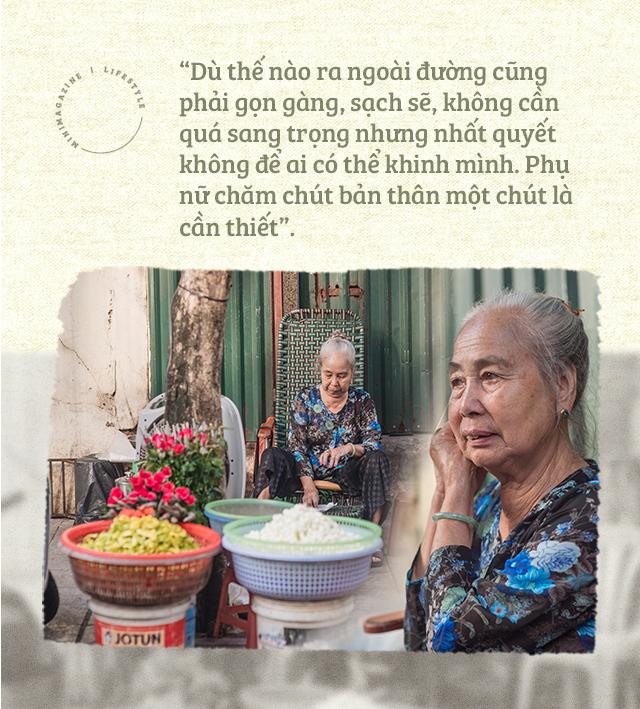 Triết lý sung sướng phụ nữ hiện đại nào cũng phải học từ cụ bà 81 tuổi bán hoa gói lá 70 năm ở góc chợ Đồng Xuân - Ảnh 13.