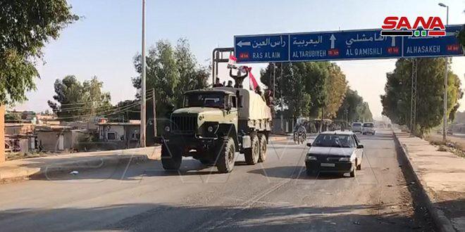 Xe quân sự Nga rầm rập tiến về Đông Bắc Syria - Người Kurd không rút nhanh sẽ bị đánh tơi tả - Ảnh 20.