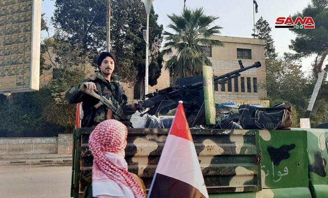 Xe quân sự Nga rầm rập tiến về Đông Bắc Syria - Người Kurd không rút nhanh sẽ bị đánh tơi tả - Ảnh 23.