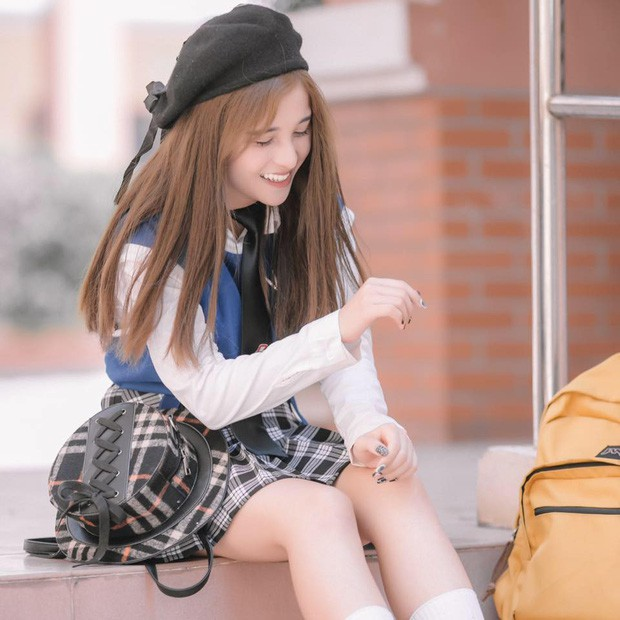 5 nữ sinh đang đi học bỗng nổi tiếng và thành hotgirl: Người được ví như 'Nancy Hàn Quốc', người bị nhầm là hotgirl Trung Quốc - ảnh 2