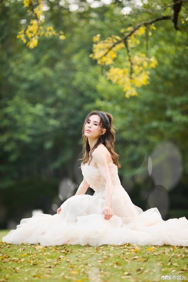 """""""Tiểu Long Nữ"""" Lý Nhược Đồng bất ngờ khoe ảnh váy cưới ở tuổi 46, lý do đằng sau khiến Cnet dở khóc dở cười - Ảnh 2."""