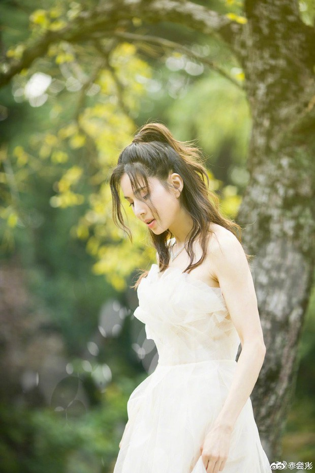 """""""Tiểu Long Nữ"""" Lý Nhược Đồng bất ngờ khoe ảnh váy cưới ở tuổi 46, lý do đằng sau khiến Cnet dở khóc dở cười - Ảnh 4."""