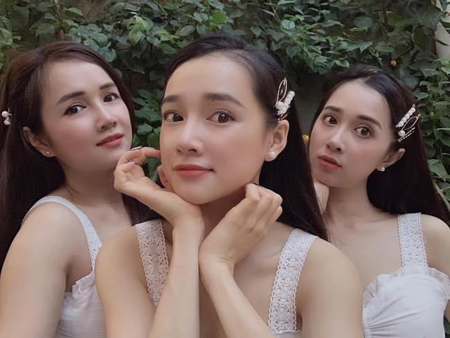 3 chị em nhà Nhã Phương đọ sắc trong một khung hình, ai cũng phải cảm thán điều này - ảnh 1