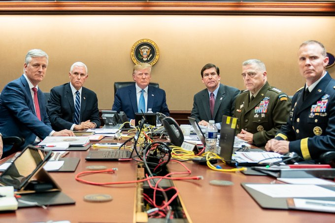 Đặc nhiệm Mỹ truy kích trùm khủng bố số 1 thế giới, ông Trump khen: Như phim hành động! - Ảnh 5.
