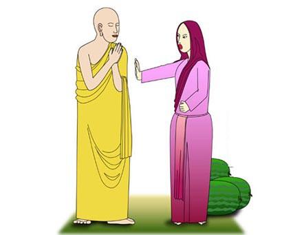 Sai 2 môn đồ đi xin dưa với 2 kết quả khác nhau, Đức Phật nói lý do khiến họ ngỡ ngàng - Ảnh 1.
