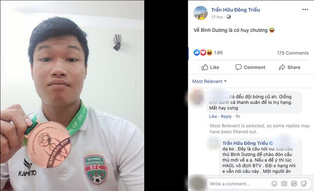Cựu cầu thủ U23 Việt Nam đáp trả cực mặn khi bị tố đá đểu đội bóng cũ HAGL - Ảnh 1.