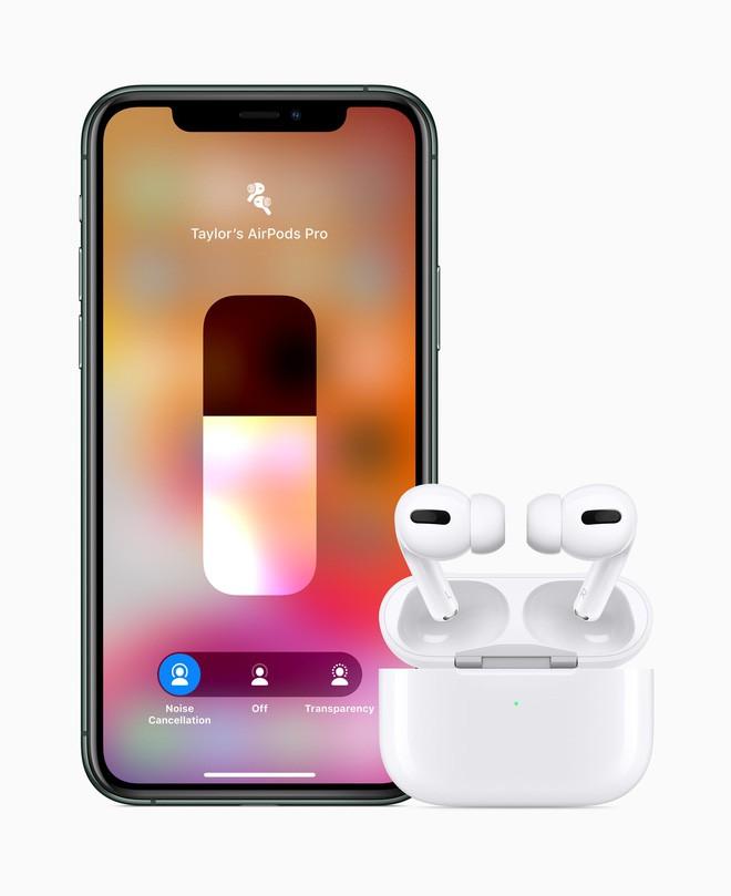 Apple ra mắt AirPods Pro: Chống ồn chủ động, chất âm tốt hơn, giá 249 USD - Ảnh 6.