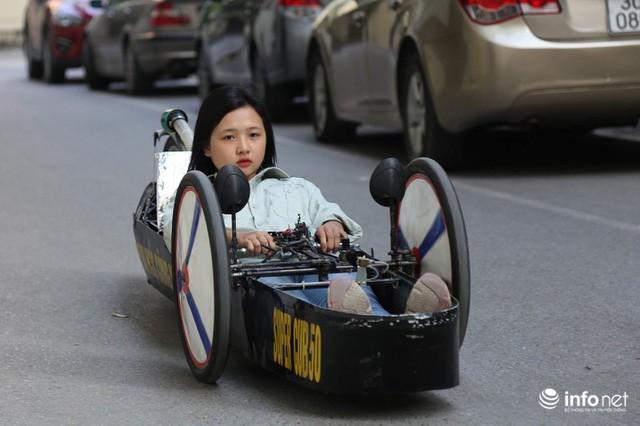 Tự hào chiếc xe Made in Việt Nam, chạy hơn 1.000 km chỉ tốn một lít xăng - Ảnh 14.