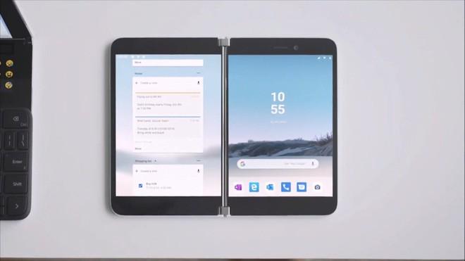 Microsoft bất ngờ ra mắt Surface Duo: Điện thoại hai màn hình chạy Android - Ảnh 7.