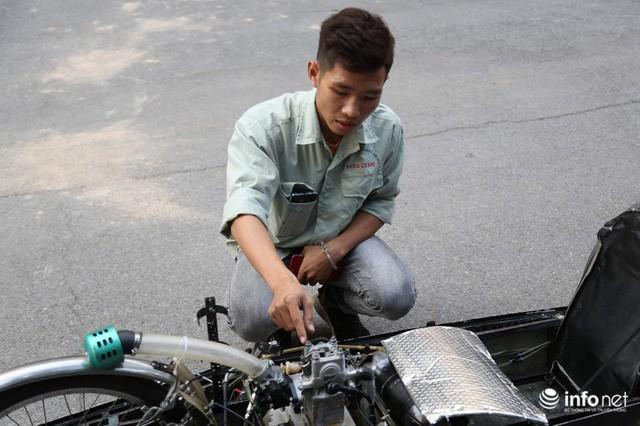 Tự hào chiếc xe Made in Việt Nam, chạy hơn 1.000 km chỉ tốn một lít xăng - Ảnh 6.