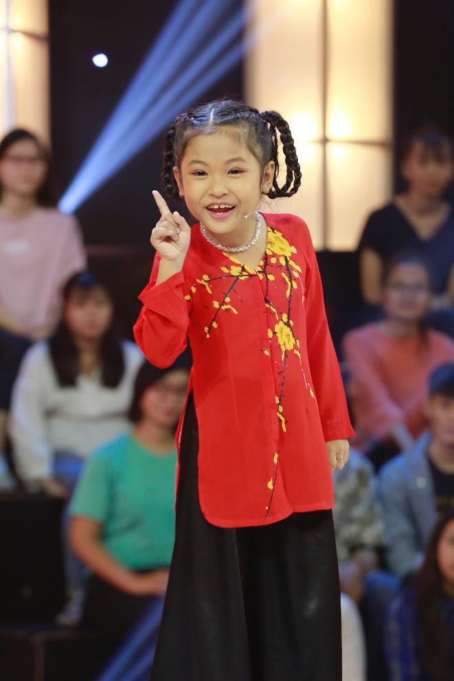 Em bé 8 tuổi xin phép được mắng chửi Ngô Kiến Huy trên sóng truyền hình - ảnh 1