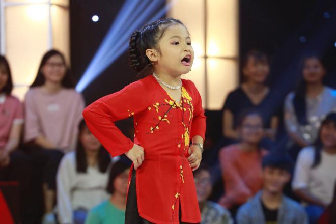 Em bé 8 tuổi xin phép được mắng chửi Ngô Kiến Huy trên sóng truyền hình - Ảnh 2.