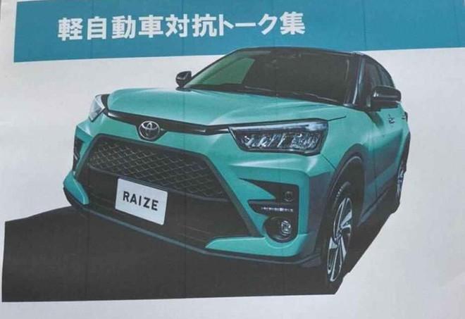 Thông tin chi tiết về chiếc xe SUV giá rẻ nhất của Toyota sắp ra mắt - Ảnh 2.