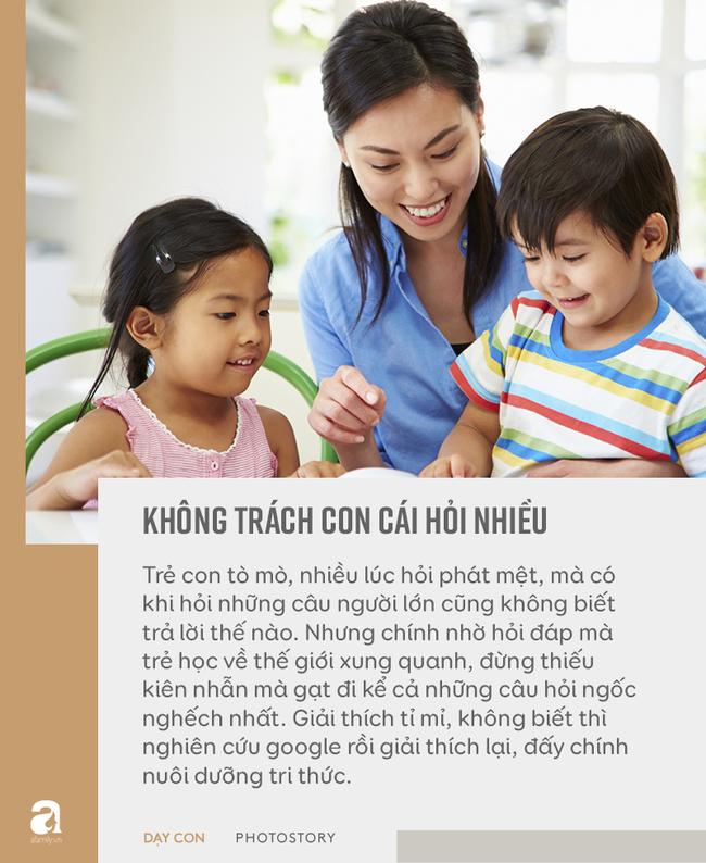 """Đừng bỏ qua quan điểm """"5 không trách, 6 không mắng"""" khi con phạm lỗi, đây mới là bí quyết bố mẹ dạy con khéo - Ảnh 5."""