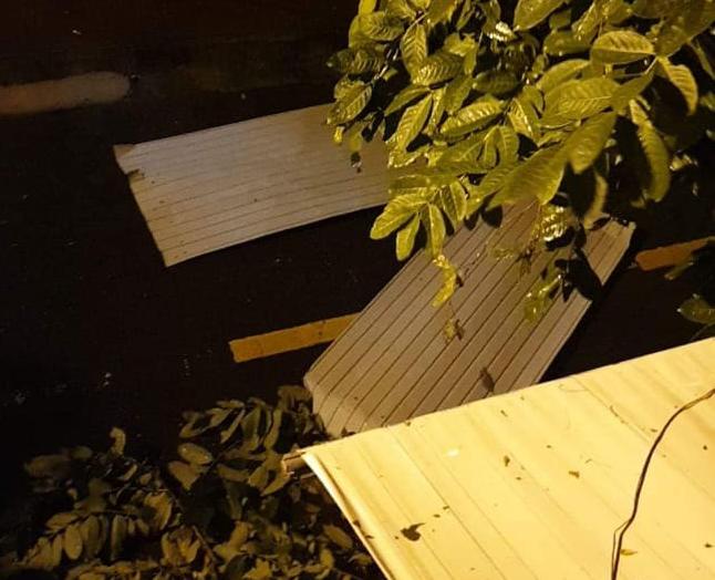Bão đổ bộ trong đêm, cây ngã đổ la liệt, nhiều địa phương ở Phú Yên, Bình Định mất điện - Ảnh 11.