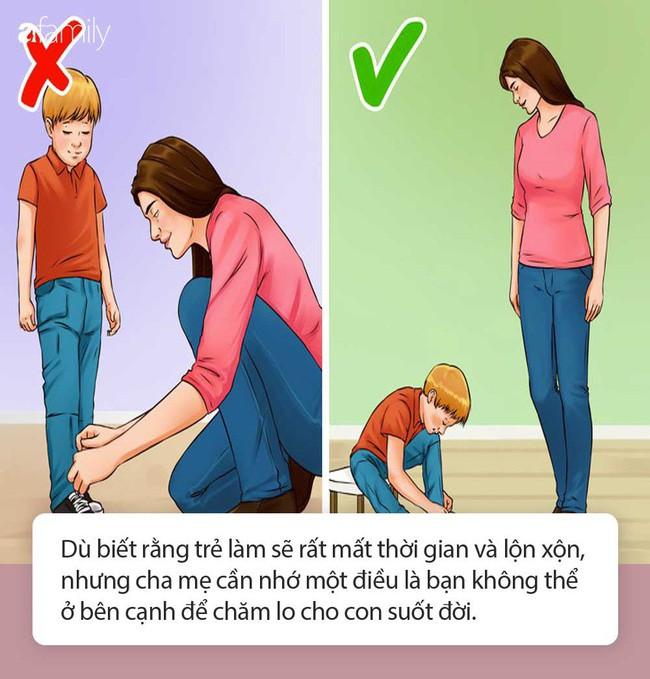 Muốn con lớn lên là người có trách nhiệm và thành công thì ngay bây giờ cha mẹ hãy tập buông tay 10 điều sau - Ảnh 1.