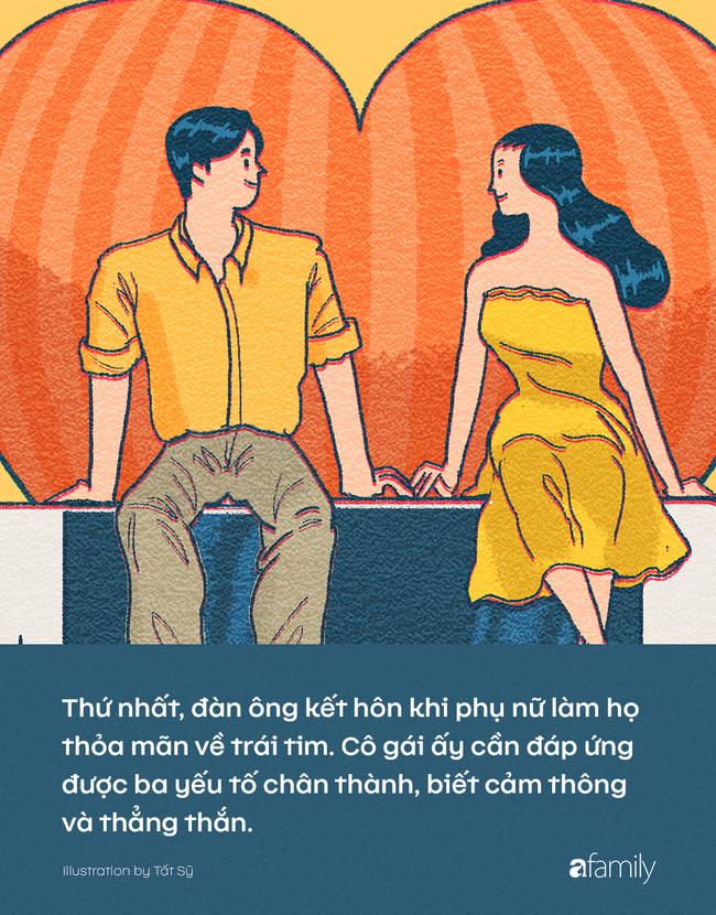 Phụ nữ kết hôn khi trái tim bị chinh phục, đàn ông kết hôn khi được thỏa mãn điều gì? - Ảnh 2.