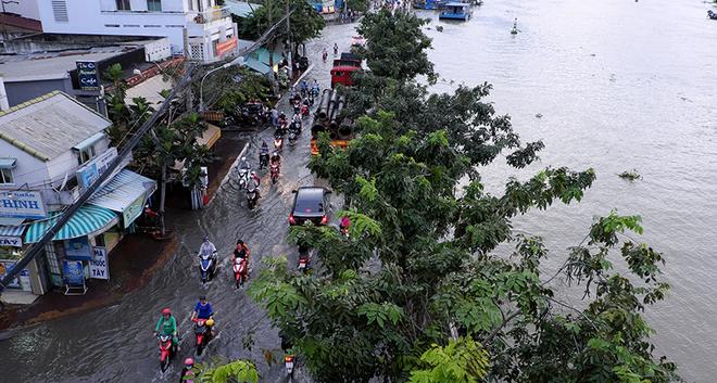 Tạp chí Nature: TP.HCM và hầu hết miền Nam Việt Nam sẽ chìm dưới nước sau 31 năm nữa - Ảnh 4.