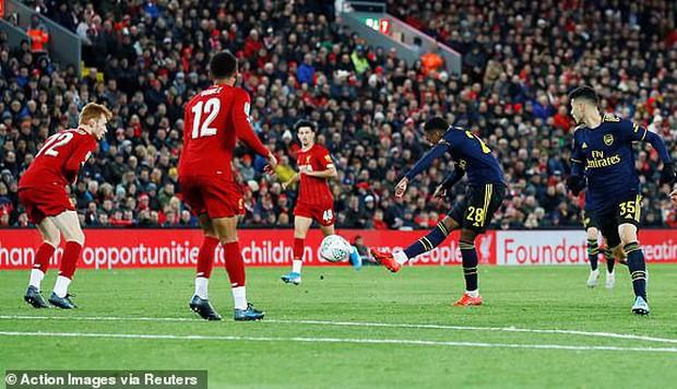 Liverpool giành quyền vào tứ kết Cúp Liên đoàn Anh theo một kịch bản không tưởng - Ảnh 4.