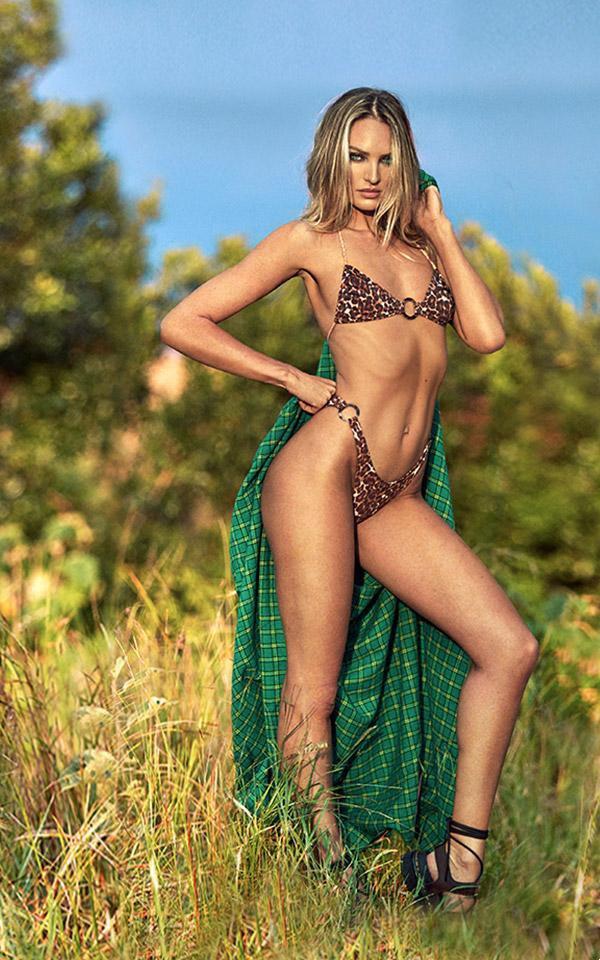 Ngắm biểu tượng gợi cảm Nam Phi diện bikini 'thiêu đốt' ánh nhìn - ảnh 4