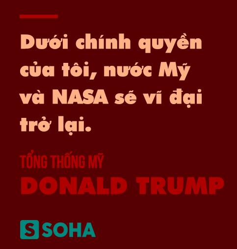 Để Mỹ thống trị không gian, TT Trump tung 2 nước cờ chưa từng có tiền lệ trong lịch sử: Đó là gì? - Ảnh 1.