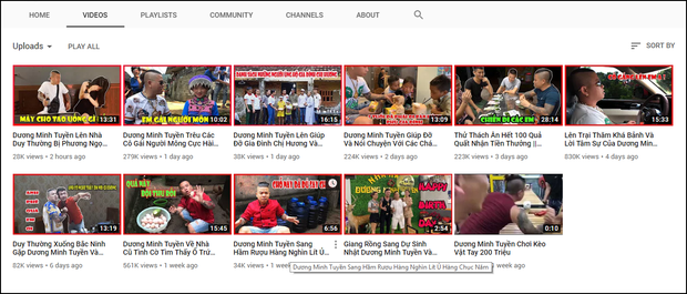 Vẫn cố làm video bạo lực, Dương Minh Tuyền lập tức bị cho bốc hơi YouTube - Ảnh 1.