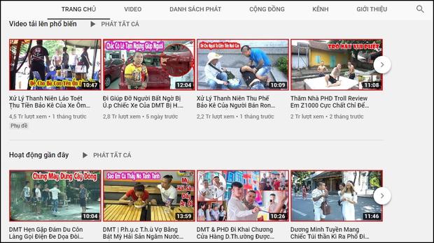 Vẫn cố làm video bạo lực, Dương Minh Tuyền lập tức bị cho bốc hơi YouTube - Ảnh 2.