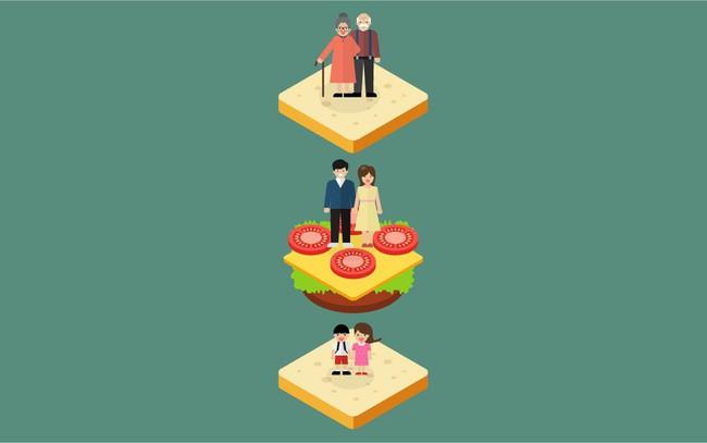 """""""Thế hệ sandwich"""": Chuyện của những phụ nữ bị giằng xé giữa chăm lo gia đình nhỏ của mình và bổn phận báo hiếu với cha mẹ già - Ảnh 1."""