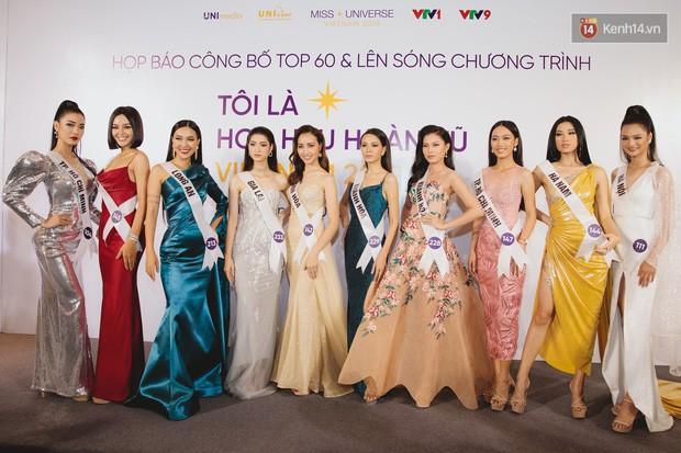 Top 60 Hoa hậu Hoàn vũ Việt Nam chính thức lộ diện: Thúy Vân, Hương Ly cùng đụng độ khoe nhan sắc bất phân thắng bại - Ảnh 11.