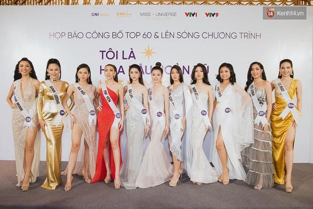 Top 60 Hoa hậu Hoàn vũ Việt Nam chính thức lộ diện: Thúy Vân, Hương Ly cùng đụng độ khoe nhan sắc bất phân thắng bại - Ảnh 13.