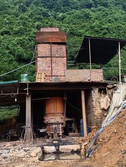 Cận cảnh lò đốt rác điện tử lấy vàng vùng giáp ranh Hà Nội - Hòa Bình - Ảnh 4.