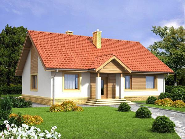 Mẫu nhà cấp 4 phong cách châu Âu đẹp như cổ tích - Ảnh 6.