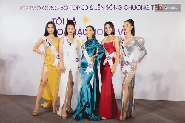 Top 60 Hoa hậu Hoàn vũ Việt Nam chính thức lộ diện: Thúy Vân, Hương Ly cùng đụng độ khoe nhan sắc bất phân thắng bại - Ảnh 10.