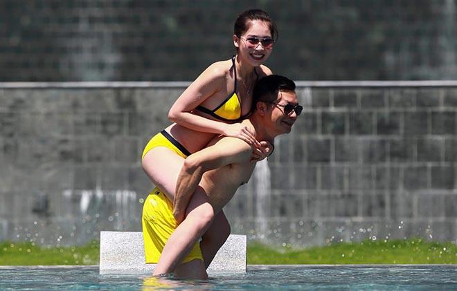 Vợ kém 16 tuổi của Shark Hưng: Vẻ ngoài nóng bỏng, không mặn mà với showbiz dù là á hậu - Ảnh 10.