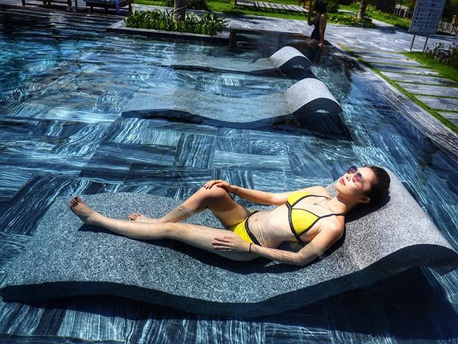 Vợ kém 16 tuổi của Shark Hưng: Vẻ ngoài nóng bỏng, không mặn mà với showbiz dù là á hậu - Ảnh 9.