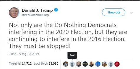 Áp lực bủa vây, ông Trump tố ngược đảng Dân chủ can thiệp vào bầu cử 2016 và 2020 - Ảnh 1.
